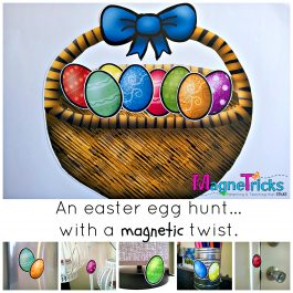 Magnetic Easter Egg Hunt set