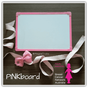 PINKboard double sided A4 magnetic whiteboards